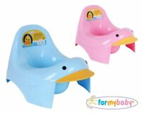 FOR MY BABY Duck Pink and Blue sitting chair potty training toddler kid children