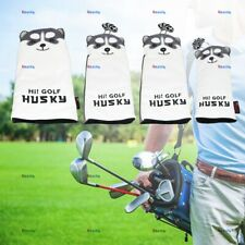 QHALEN 4pc Hi! Golf Husky Driver Fairway Wood Cover Hybrid Putter Cover For PING