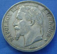 Frankrijk - France - 5 franc 1868 BB NAPOLEON III - KM# 799.2