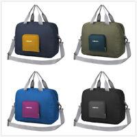 Travel Storage Luggage Carry-on Waterproof Duffel Bag Handbag Portable Foldable