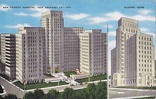 New Charity Hospital NEW ORLEANS Louisiana U.S.A. E.C. Kropp Postcard 207