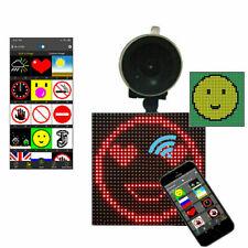 Controlled Car LED Display Emoticon Animation App Wireless Bluetooth DIY Screen