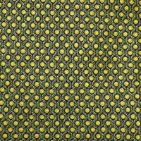ITALO FERRETTI Mens Green Ochre DOT ROPE Handmade Silk Tie Italy NWOT