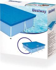 Bestway 58106 telo copri piscina rettangolare 300x201x66 cm piscine fuori terra