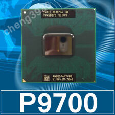Intel Core Duo P9700 2.8 GHz 6MB 1066MHz Processor SLGQS mobile laptopProcessor