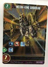 1 Godzilla Card Game Mecha-King Ghidorah Full Art Foil Gz01-46-Eb Chrono Clash