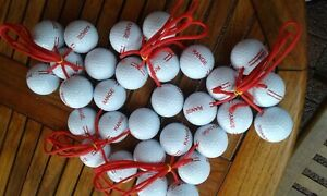 Leitergolf Bolas f. 5 Spieler unbespielt aus UNGEFÄRBTEN Golfbällen(Bitte lesen)