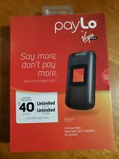 Brand new Entro Sph-M270 - Black - payLo by Virgin Mobile Phone