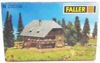 UNUSED FALLER N 232256 - N GAUGE KIT - BLACK FOREST WOODEN HOUSE