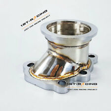 "Turbo Down Pipe GT25 GT28 T25 T28 5 Bolt Flange to 2.5"" Inch 63mm V band Adapter"