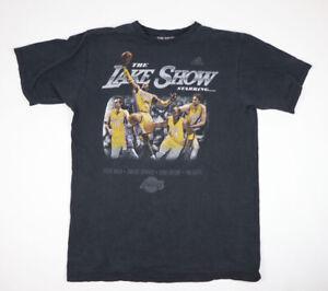 Adidas Lakers Mens T Shirt Nash Howard Kobe Gasol The Lake Show Grey L