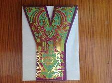 "Punch Studio Diecut Flowered INITIAL ""Y"" Magnetic Closure 75 Sheet Note Pad"