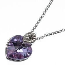 6.78ct Corte Corazón Estilo forma Amatista violeta Circonita Cúbica 18ct