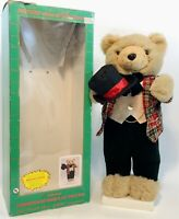 Vintage Animated Telco MOTIONETTE Electric Christmas Figure Bear - IOB - WORKS!