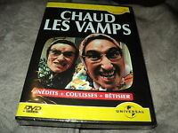 "DVD NEUF ""CHAUD LES VAMPS"" inedits + coulisses + betisier"
