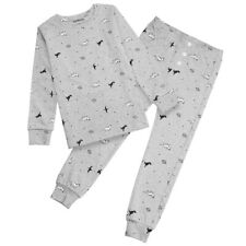 2PCS Cotton Kids Boys Pyjama Sleepwear Pajamas Nightwear Pj's Outfits Set AU