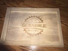 Scrabble Crossword Board Game Target Wooden Box 2016 Edition Hasbro Gaming