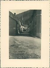 France, Château-Ville-Vieille, Château Queyras  Vintage silver print Tirage