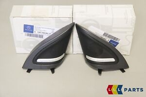 NEW GENUINE MERCEDES BENZ MB GLA CLASS X156 HARMAN KARDON TWEETER COVER PAIR L+R