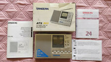 Sangean Professional Multiband FM/MW/13 SW Synthesizer ATS 303 Receiver Silver