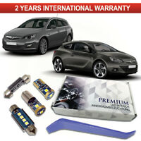 Opel Astra J Premium LED Interior Full Kit White Error Free Bulbs CC GTC OPC