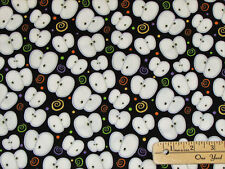 Chill & Thrills Glow in the Dark EYES Halloween Fabric by the 1/2 Yard   #6970G
