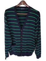 Mens POLO GOLF RALPH LAUREN pima cotton cardigan/jumper/sweater Size XL.RRP £175