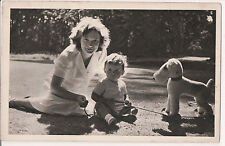 Vintage Postcard Grand Duchess Joséphine Charlotte of Luxembourg & Family