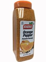 26 oz Badia Orange/Pepper/Seasoning/Seafood/Poultry/Sazon/de/Naranja/Pimienta