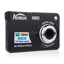 "Hot 2.7"" 8x Zoom HD LCD Mini Digital Camera Smile Capture Video Camera Camcorder"