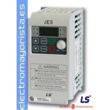 VARIADOR DE FRECUENCIA 0,1KW (0,13 CV) ENTRADA MONOFASICA MARCA LS (LG) SV004IE5