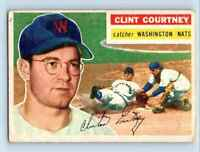 1956 Topps Clint Courtney . #159