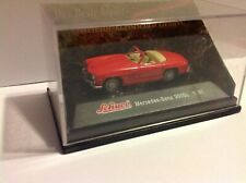 Schuco 1/87 HO-scale 1957 Mercedes-Benz 190 SL red unused