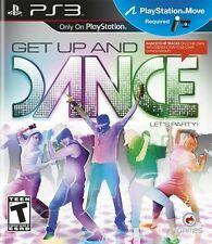 Get Up and Dance (PlayStation 3, PS Move, Crave) PS3 Music Rhythm Game - NEW