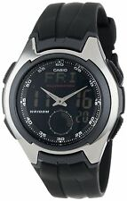 Casio AQ160W-1B Mens LCD Analog Digital Resin Sports Watch 100M