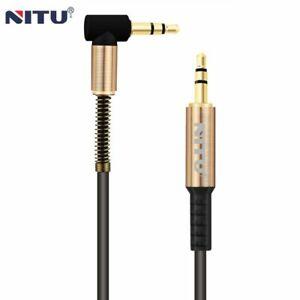 Mâle à Auxiliaire Audio Stéréo Câble Résistante Adaptateur Pour Huawei P30
