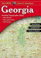 Delorme Georgia GA Atlas & Gazetteer Map Newest Edition Topographic / Road Maps