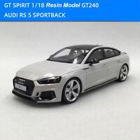 GT SPIRIT 1:18 AUDI RS5 SPORTBACK White Resin Car Model +Free Small Gift