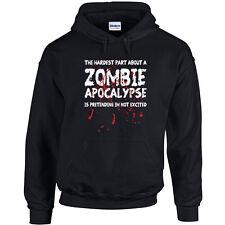 075 Zombie Apocalypse Hoodie retro funny zombie lover vintage retro new