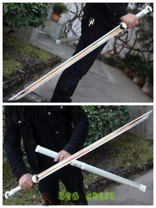 Hand Forged Chinese Sword Longquan KungFu Sword High Manganese Steel Sharp Blade
