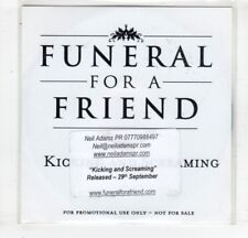 (HM575) Funeral For A Friend, Kicking And Screaming - DJ CD