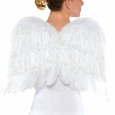 56cm Large Feathered Angel Wings Christmas Xmas Nativity Play Angelic Soft Fairy