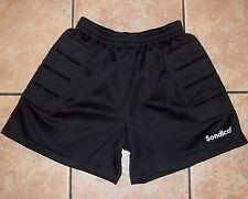 SONDICO Goalkeeper BLACK GOALIE SHORTS~size Adult SMALL~NEW~Padded SOCCER Pair