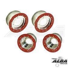 Banshee 350 Warrior  Front   Rear Wheels  Beadlock 10x5  9x8  Alba Racing S/R 41