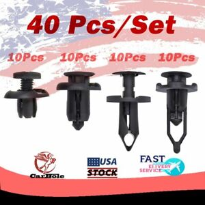 Front Car Retainer Clips & Plastic Fasteners Kit 91503-SZ3-003 21030249 52161020