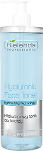 Bielenda Professional Hyaluronic Face Toner with Hydra-HYAL2 Technology 500ml