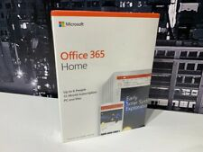 Microsoft Office 365 Home for 6 PCs / MACs 1 Year Word Excel Powerpoint