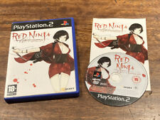Red Ninja: End of Honour - PS2 (PAL) RARE! PlayStation 2 Game Only One eBay Uk