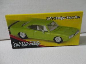ERTL 1970 DODGE SUPER BEE Lime Green '70 w/Box RC2