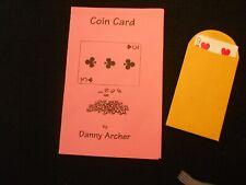 Coin Card (Blue Bicycle Back) by Danny Archer